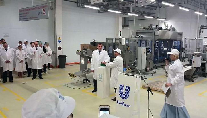 Бетонные полы на заводе uniliver